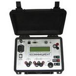 Коэффициент (северный вариант) – Прибор для измерения параметров силовых трансформаторов