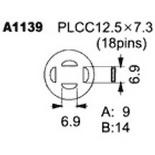 A1139 – Насадка для Quick850, Quick855, Quick857, Quick861, Quick990