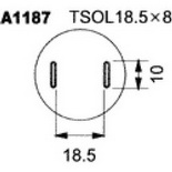 A1187 – Насадка для Quick850, Quick855, Quick857, Quick861, Quick990