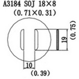A3184 – Насадка для Quick856, Quick858, Quick997