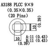 A3188 – Насадка для Quick856, Quick858, Quick997