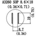 A3260 – Насадка для Quick856, Quick858, Quick997