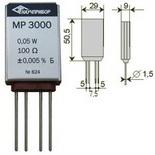 MP3000 – Прецизионные резисторы