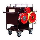 СВПА – Стенд высоковольтный для прожига кабеля с генератором акустических ударных волн (на одной тележке)