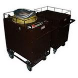 СВПА – Стенд высоковольтный для прожига кабеля с генератором акустических ударных волн ВПА (на двух тележках)