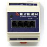 АМЕ-1274 – Измеритель температуры сетевой многоканальный USB