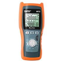 M75 – Многофункциональный измеритель параметров электрических сетей